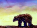 Bear at Sunset-orig-ab