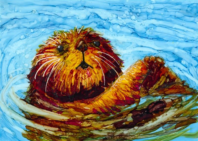 Otter-2-11x14-print